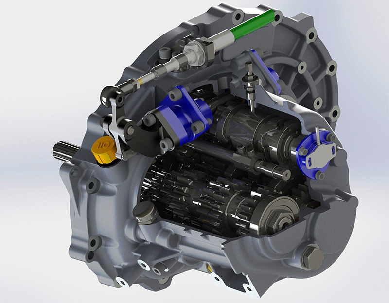 The Lotus Elise Cup Pb R S 6 Speed Sequential Gearbox On