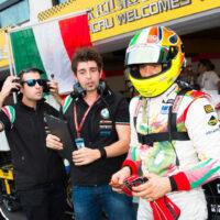 Fabio Magnani, Jacopo Fedele & Stefano d'Aste (WTCC - Macau 2013)