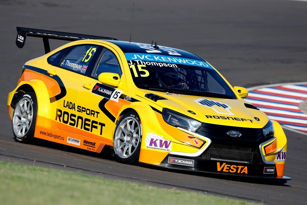 James Thompson (LADA Vesta - LADA Sport Rosneft)