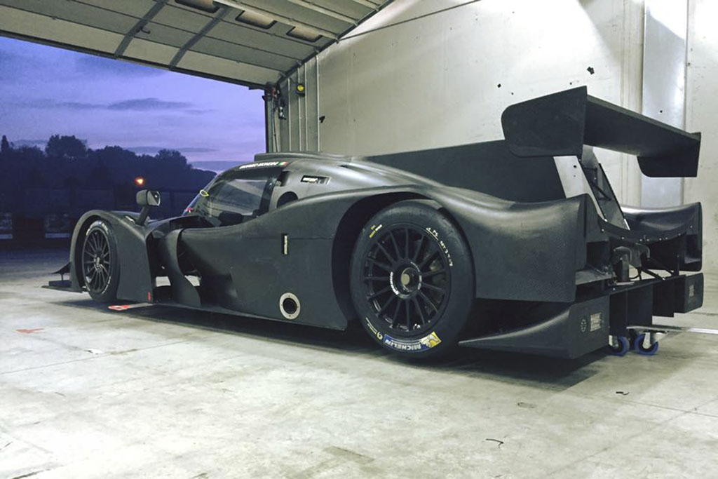 elms completati positivamente i primi test con la ligier lmp3 della eurointernational. Black Bedroom Furniture Sets. Home Design Ideas