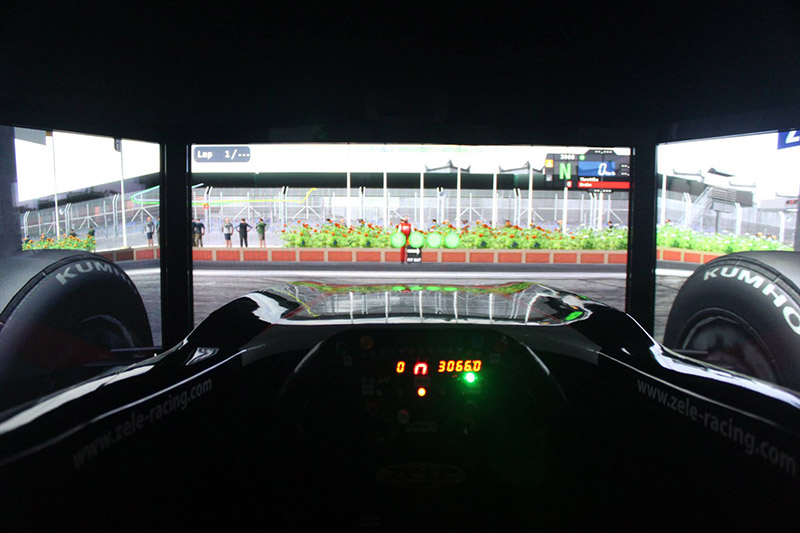Simulatore Auto GP Zele Racing (1)
