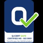 Q-CERT SAFE MS ISO 9001 (FLAT)